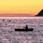 Rowing at Dawn